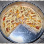 Recook resep Pizza Corn Spicy Mayo